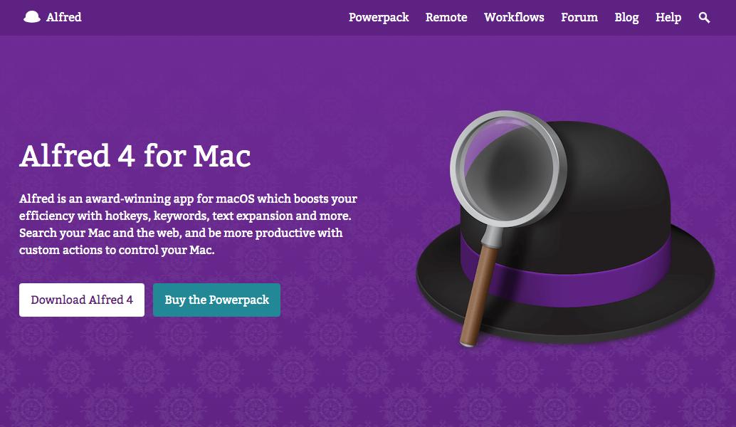 Macの作業効率を最大化。神ツール『Alfred』