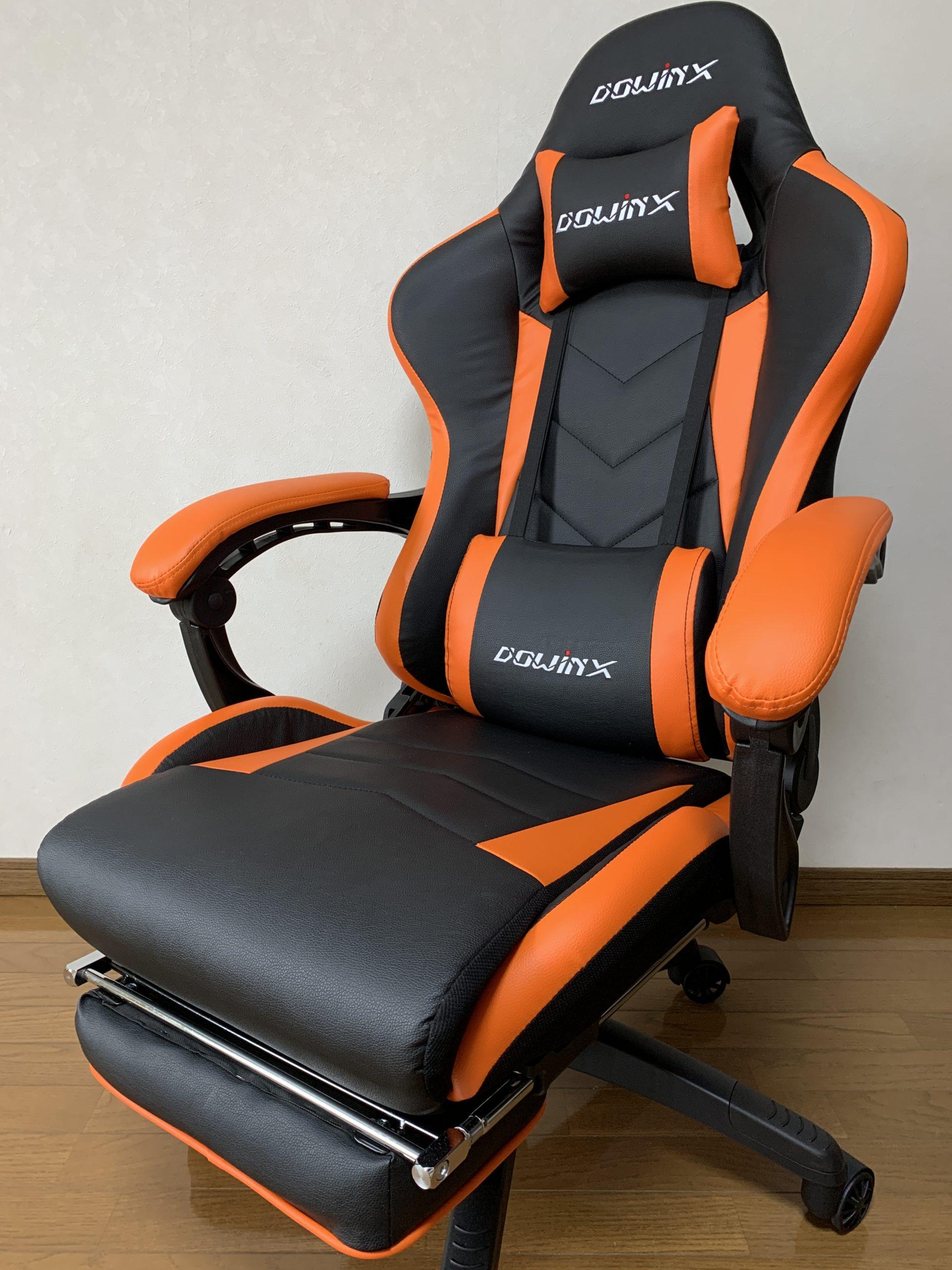Dowinx ゲーミンチェア 毎日座り続けても腰が痛くならない