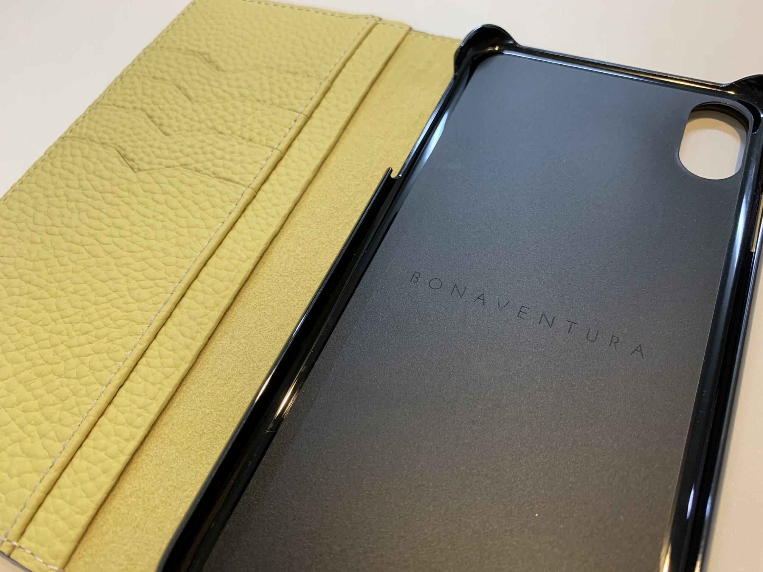 BONAVENTURA iPhone ケース 内側 手帳型ケース